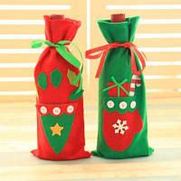 Macroart Многоразовый ручной мешок для бутылки в рождественском стиле 3шт Цветной