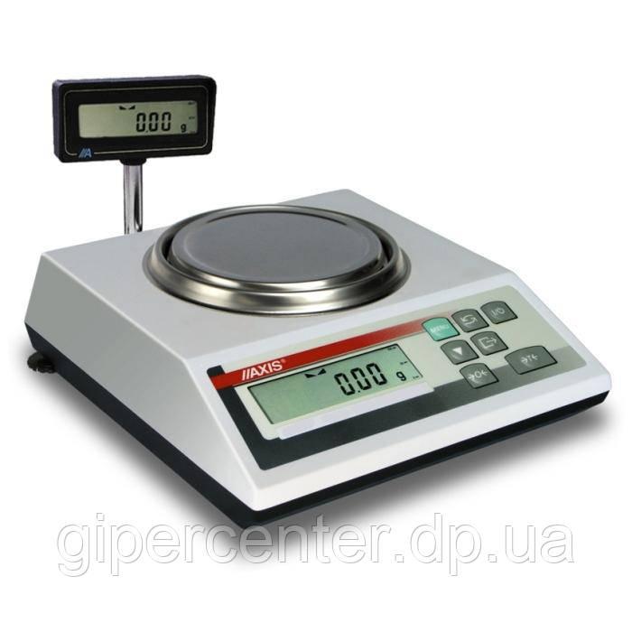Ювелирные весы лабораторные AXIS AD500R до 500 г, дискретность 0,001 г
