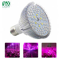 Ywxlight E27 12 Вт полный спектр LED растение роста лампа для цветок овощи переменного тока 90-260В Фиолетовый