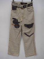 Летние брюки для мальчиков Лен размеры: 140,145,150,155,160 роста