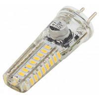 2W Gy6.35 светодиодная силиконовая лампа Smd 3014 12V для люстры 180 Lm Warm White как на фото