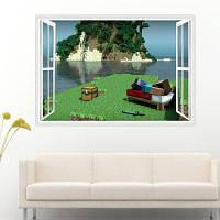Морского боя стикер стены в игре декор для украшения дома 50 x 70cm