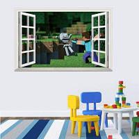 3D стикер стены для детская комната популярные игры съемным стены Термоаппликации 50 x 70cm
