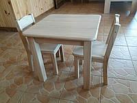 Детский столик и стулья (дуб)