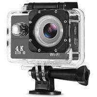 4K 30fps 16MP WiFi спортивная камера видеокамера Чёрный
