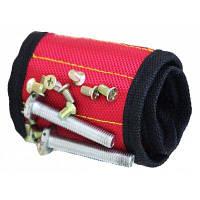 Магнитный браслет для удерживания винтов гвоздей болт сверла Красный
