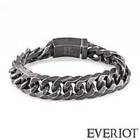 Браслет из стали Everiot SB-MJ-14014 в форме старинной цепи