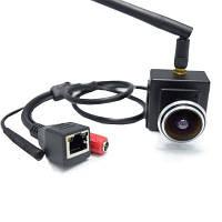 720P Аудио широкоугольный объектив 1.78мм рыбий глаз объектив Wifi IP-камера 1.0 MP беспроводная крытая небольшая сетевая камера Чёрный