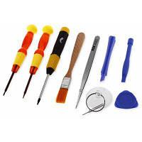 10 в 1 отвертка инструменты для открытия ПК и сетевого телефона мир инструмента Цветной