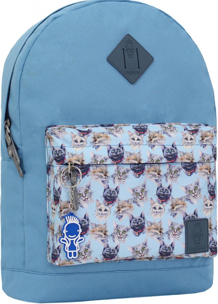 Рюкзак  молодежный Bagland городской.Котики.