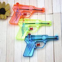 Прозрачный пластиковый водяной пистолет для игр на свежем воздухе Цветной