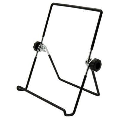 Универсальная вращающаяся металлическая подставка держатель для планшетов iPad PC - Чёрный, фото 2