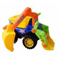 Песочная игрушка-модель рузовика для разбрасывания песка Цветной