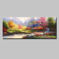 Mintura Unframed Prints Современное искусство пейзажной стены 1PC Цветной