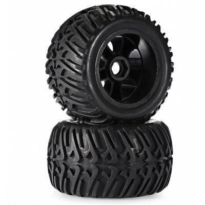 Zd Racing 8376 Универсальные резиновые шины 2шт / комплект - Чёрный, фото 2
