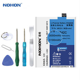 Аккумулятор Nohon BT42C для Meizu M2 Note (ёмкость 3050mAh)