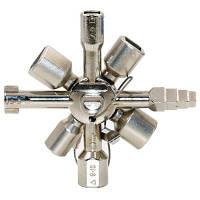 Y-01 Многофункциональный односторонний треугольный ключ для ключей треугольника Серебристый