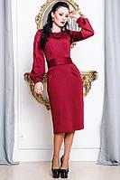 Бордовое платье - DIOR-