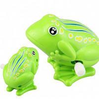 Ветер-до прыжки Лягушка старинные игрушки Зелёный