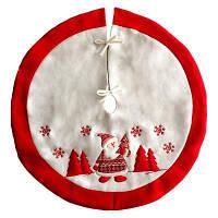 Творческий фартук рождественские украшения юбка для елки Белый