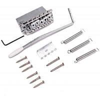 Ретро тремоло бридж комплект для электрогитары Серебристый
