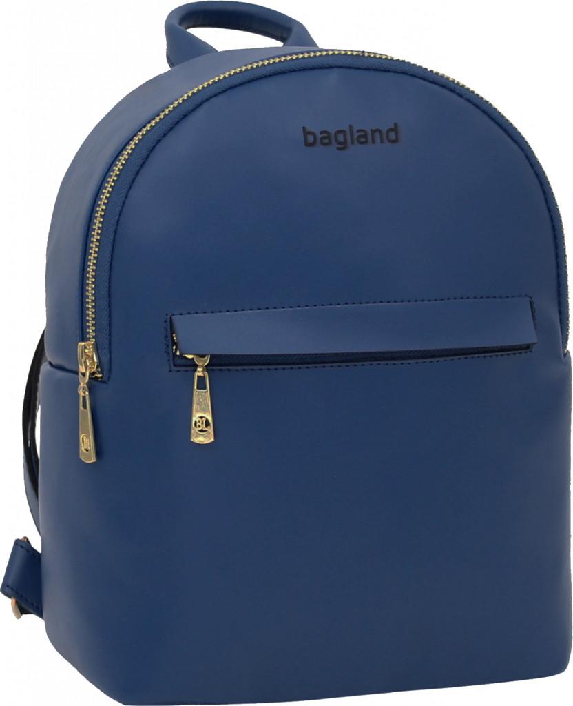 Рюкзак женский Bagland из эко кожзама. Синий