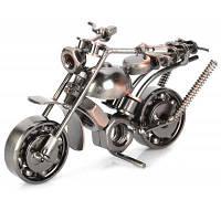 Стиль Ретро Металлический Шаблон Мотоцикл Игрушка Украшение 27621