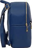 Рюкзак женский Bagland из эко кожзама. Синий, фото 2