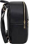 Рюкзак женский Bagland из эко кожзама. Черный, фото 2