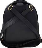 Рюкзак женский Bagland из эко кожзама. Черный, фото 3