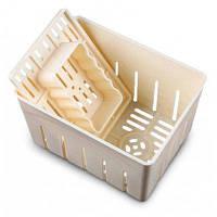 Пластиковая пресс-форма для приготовления тофу домашнего соевого творога Белый