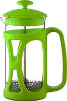 Стеклянный заварник Con Brio 350мл зеленый СВ5335