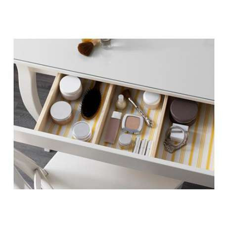 хемнэс туалетный столик с зеркалом белый 10121228 Ikea икеа