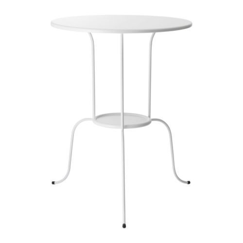 ЛИНДВЕД Столик придиванный, белый, 30125697, IKEA, ИКЕА, LINDVED