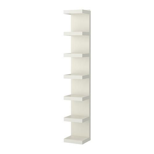 ЛАКК Полочный модуль, навесной, белый, 60282186, ІКЕА, ИКЕА, LACK