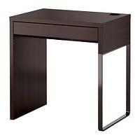 МИККЕ Рабочий стол, черно-коричневый, 20244747, IKEA, ИКЕА, MICKE