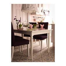 ИНГАТОРП Раздвижной стол, белый, 70221423,IKEA, ИКЕА, INGATORP, фото 2
