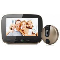 ENOCH-M100 дверной звонок с просмотром в HD Золотой