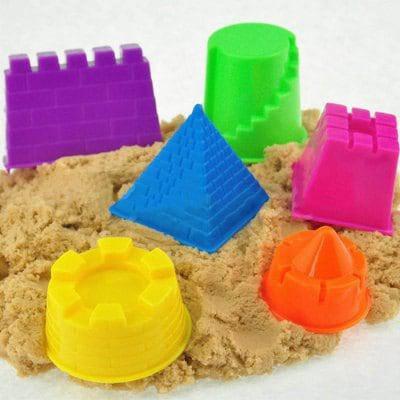 Пластиковые игрушки для песчаного пляжа 6 шт - Цветной, фото 2