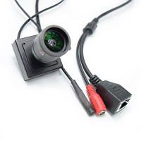 1080P Мини IP камера ONVIF 2.8-12мм ручной варифокальный зум-объектив P2P подключи и играй с металлическим кронштейном система безопасности Чёрный