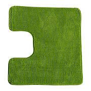ТОФТБУ Коврик в туалет, зеленый, 60х55 см, 10252479, IKEA, ИКЕА, TOFTBO