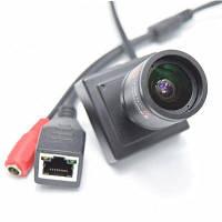 960P Мини IP камера 9-22мм ручной варифокальный зум-объектив P2P подключи и играй система безопасности ONVIF2.0 Чёрный