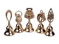 Набор колокольчиков латунных 15 см., 5 шт. Stilars