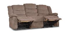 Диван реклайнер Ashley, диван реклайнер, мягкий диван, мебель в ткани, фото 3