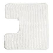 ТОФТБУ Килимок в туалет, білий, 60х55 см, 50252477, IKEA, ІКЕА, TOFTBO