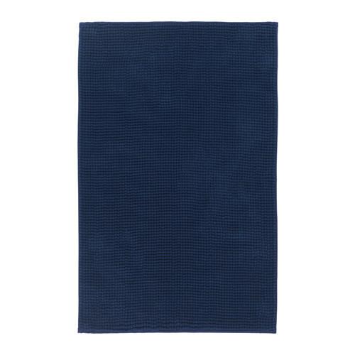 ТОФТБУ Коврик для ванной, темно-синий, 90х60, 60306719, IKEA, ИКЕА, TOFTBO