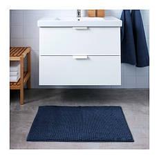ТОФТБУ Коврик для ванной, темно-синий, 90х60, 60306719, IKEA, ИКЕА, TOFTBO, фото 3