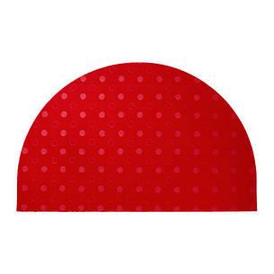 ТВИС Придверный коврик, полумесяц, красный, 90239304, IKEA, ИКЕА, TVIS, фото 2