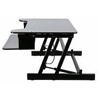 Регулируемый стол для ноутбука компьютерный стол Чёрный