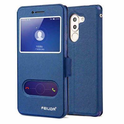 Роскошный защитный чехол для Huawei честь 6 раз Синий, фото 2